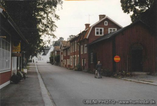 A street in Kopparberg, Sweden. See comment please!