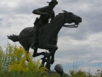 Pony Express Statue, Marysville, Kansas