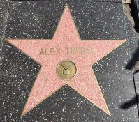 Alex Trebek's star on the Hollywood Walk of Fame