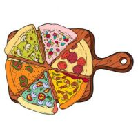 Unlimited assortment of fresh pizza for all to enjoy