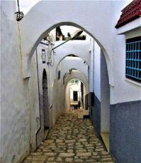 Whitewashed Arches