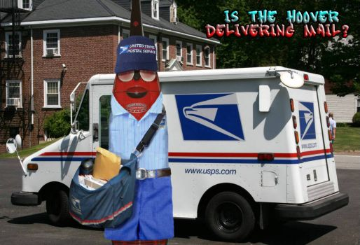 Is the Hoover delivering the Mail?