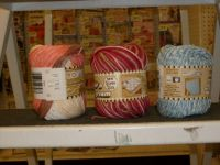 Skeins of cotton