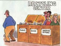 it's good to recycle
