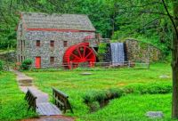 Grist Mill Longfellows Wayside Inn