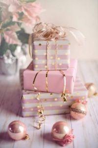 christmas pink gifts