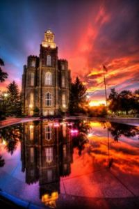 Logan, Utah, USA  Logan LDS Temple