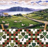 """""""Double Irish Chain"""" Quiltscape - 64"""