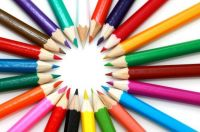 Colorful Pencils by Petr Kratochvil