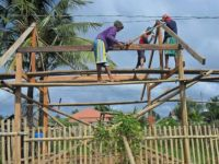 Philippine Carpenters at Work