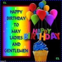 HAPPY BIRTHDY MAY BABIES