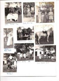 THEME:  Vintage Photos   A backyard circus, part 1