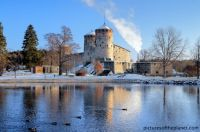 castle of olavinlinna, finland