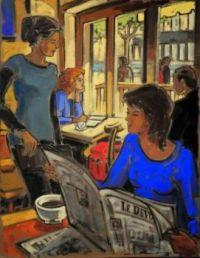 Cafe   -   Jeannette Perreault