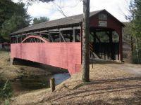 Larrys Creek Covered Bridge, Cogan House Township PA