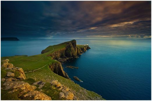 Neist Point Light by Christian Bothner