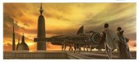 Arriving to Bespin - Art by Ralph McQuarrie