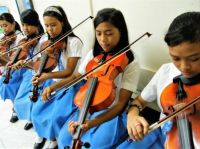 Musicians 72 - Violin Students, Tagum City, Philippines