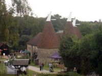 Oast House at The Museum of Kent Life, Cobtree, Lock Lane, Sandling, Kent.  Photo by Oast House Archive