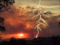 Sunset Lightening