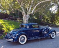1934 Packard Twelve 1108 Stationary Coupe by Dietrich