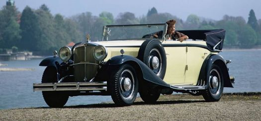 1930 - Maybach Zeppelin DS8 cabriolet