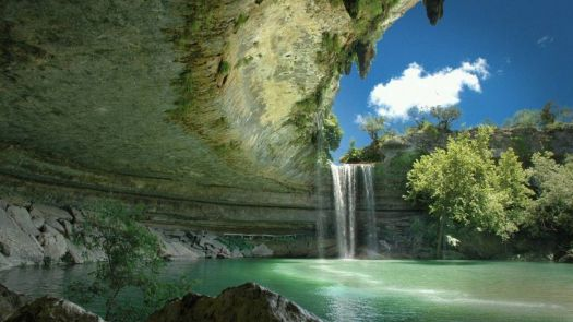 Hamilton Pool near Austin, TX - photog unknown