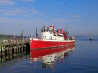 Fireboat at Oyster Bay, NY