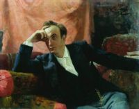 Ilya Efimovich Repin, Portrait of Actor Grigory Ghe (1895)