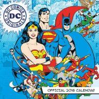 The Justice League Calendar Cover