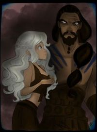 Daenerys and Khal Drogo - Disney's version