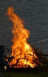 Bonfire....Lakefront