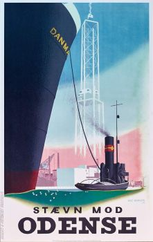Odense - poster, 1943