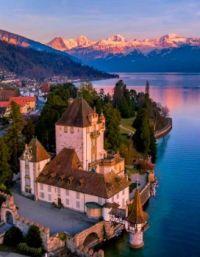 Thunersee, Castle Oberhofen, Switzerland  6032