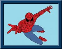 Fyling Spider Man