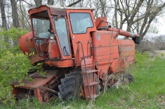 Old farm machiery