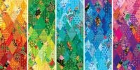 Sochi winter games patchwork designs