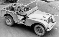 Prototype Land Rover