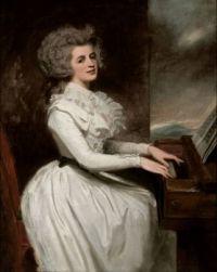 George Romney Charlotte, Mrs Thomas Raikes 1787
