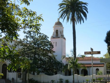 Santa Barbara church