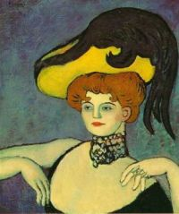 Picasso: Courtesan with Necklace of Gems