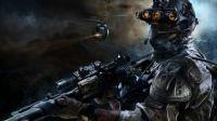 Futuristic Soldier Scene (Huge)