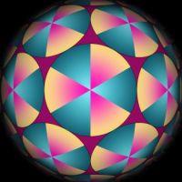 3D Sphere 8