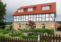 Half-timbered House with Red Roof and Charming Garden - Hessen, Germany