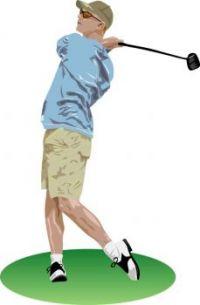 CA 842 - Golfer