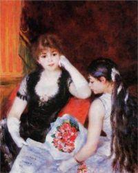 Pierre-Auguste Renoir: En el concierto, 1880