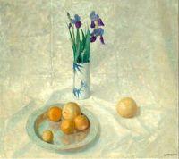 Still Life with Iris and Oranges, c.1925, N. C. Wyeth (1882-1945)