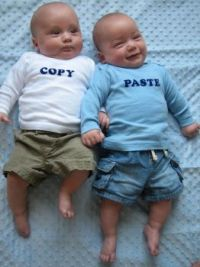 How twins are made!!