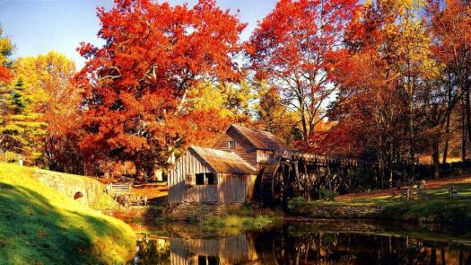 Old Mabry Mill, virginia
