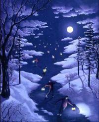 Nocturnal Skating
